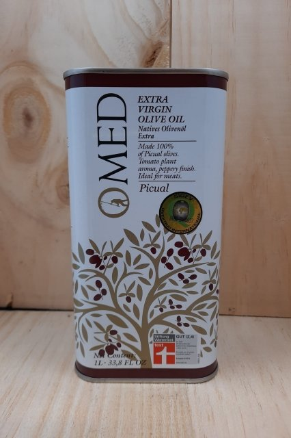 O'Med, Picual tin 250ml 138560